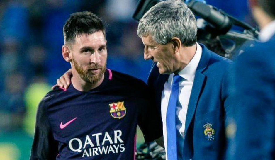 Quique Setién, el nuevo técnico del Barcelona, un enamorado de Messi y Cruyff (VIDEO)