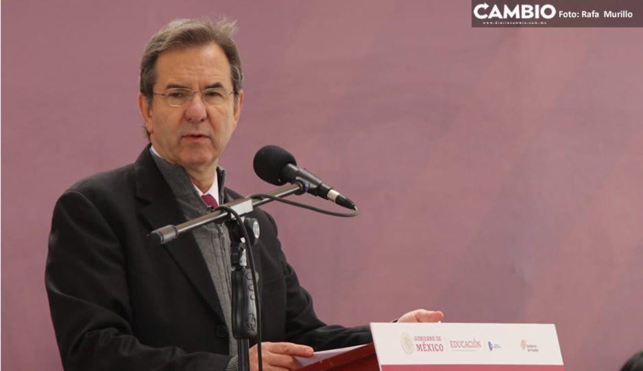SEP Federal no intervendrá en auditoría a Esparza, afirma Moctezuma