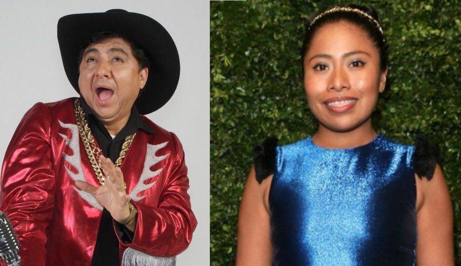 Que chiflen a su madre todos los que critican a Yalitza: Huicho Domínguez