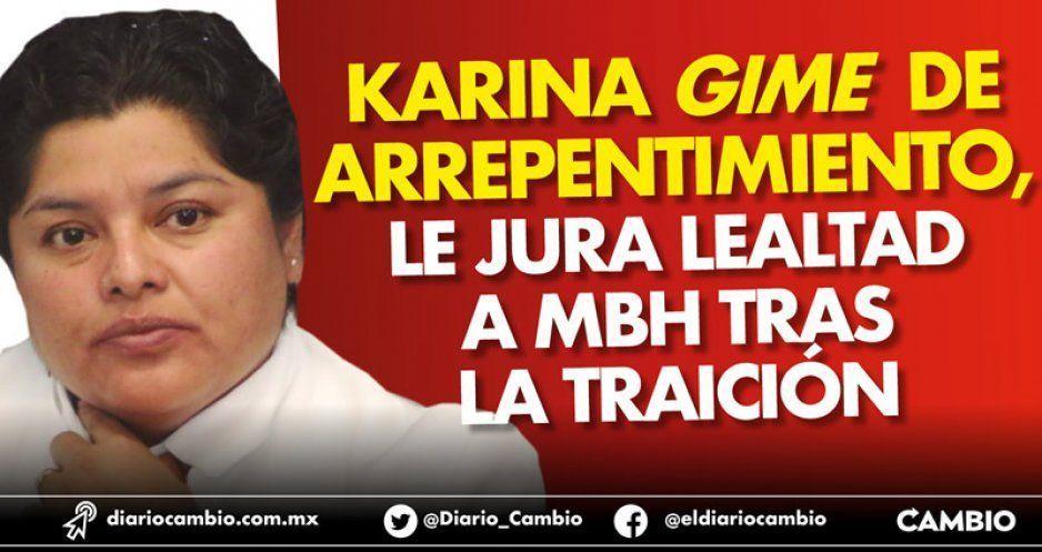Karina gime de arrepentimiento, le jura lealtad a MBH tras la traición