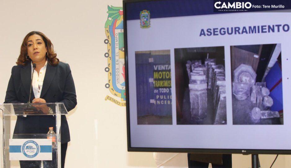 Sin detenidos, operativo para recuperar fuente del antiguo Hospital de San Roque