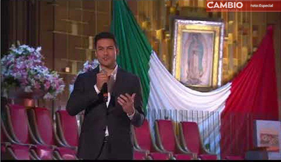 Fui un peregrino guadalupano y sé lo que se vive, declara Carlos Rivera (VIDEO)