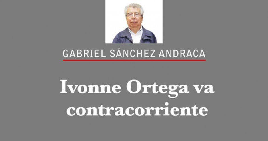 Ivonne Ortega va contracorriente
