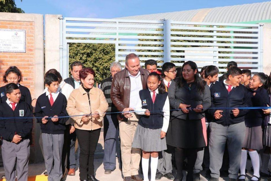 Inaugura Guillermo Velázquez obras para el desarrollo de Atlixco