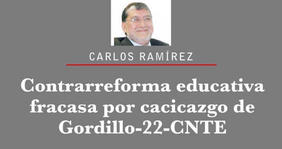 Contrarreforma educativa fracasa por cacicazgo de Gordillo-22-CNTE