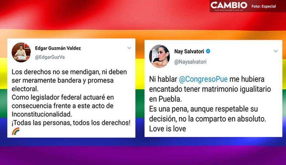 Nay Salvatori y Edgar Guzmán reprochan a diputados de Morena oponerse al aborto y al matrimonio igualitario