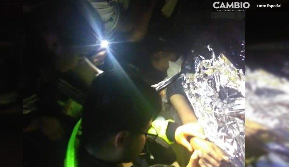Policías de Cuautlancingo atropellan a una mujer