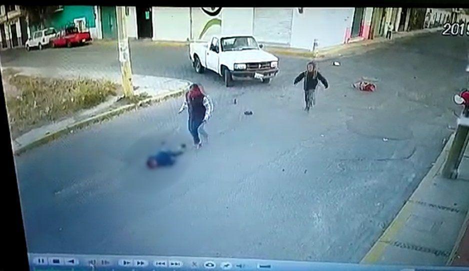 Cruel atropello a niñito en Huejotzingo; asesino se da a la fuga