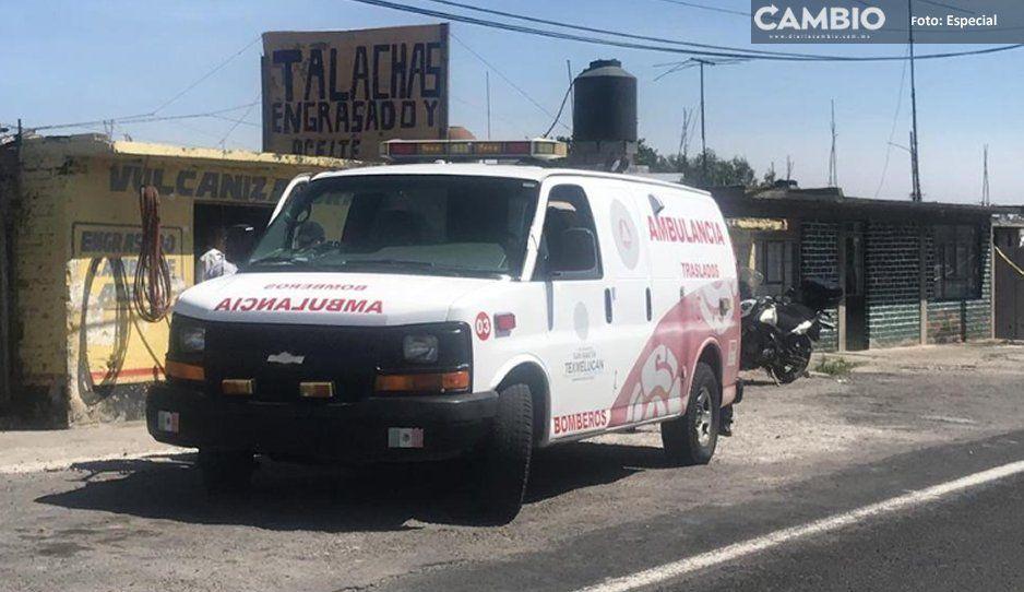 Policía y paramédicos poblanos, detenidos en  Tlaxcala tras rescate de criminal en traslado