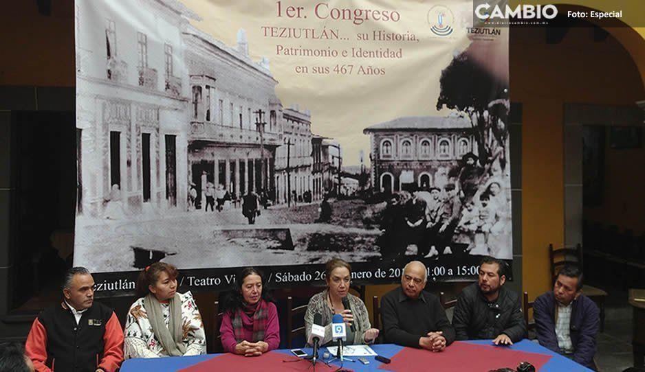 Anuncian congreso y libro sobre Teziutlán para celebrar su aniversario