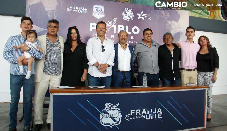 Club Puebla prepara partido en homenaje a Pablo Larios