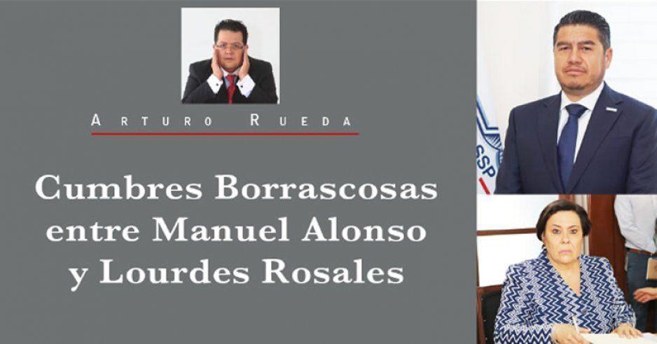 Cumbres Borrascosas entre Manuel Alonso y Lourdes Rosales
