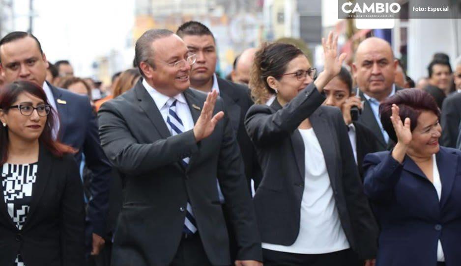Más de 8 mil atlixquenses conmemoran con desfile el 109 Aniversario de la Revolución Mexicana