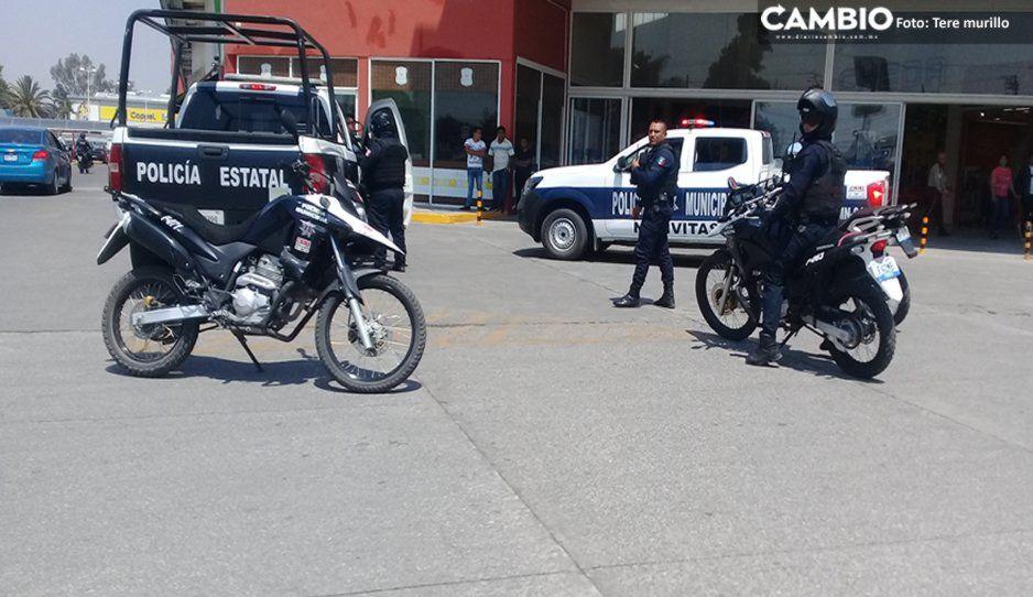Llamada de extorción en Tlaxcala genera movilización en Texmelucan
