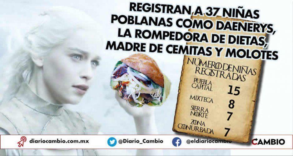 Daenerys a la poblana: son 37 niñas bautizadas en Puebla como la madre de los dragones