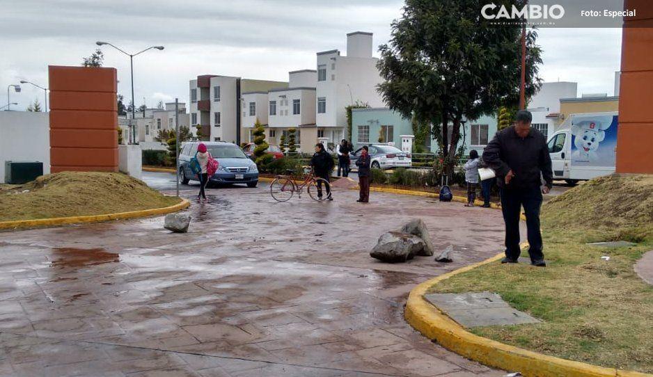 Vecinos disparan a sujeto cuando intentaba robar en domicilio en Huejotzingo