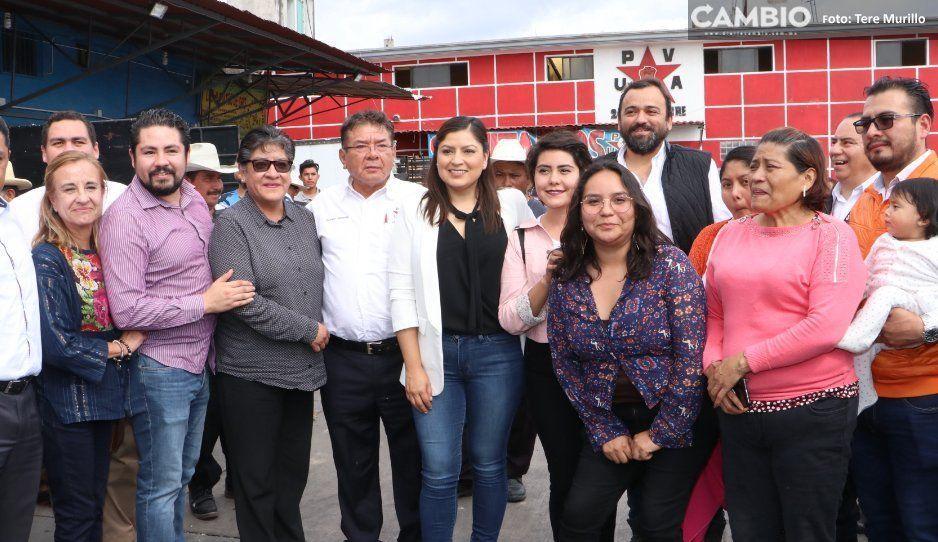 Claudia confirma centro de Seguridad,  guardería y canchas en Mercado Unión