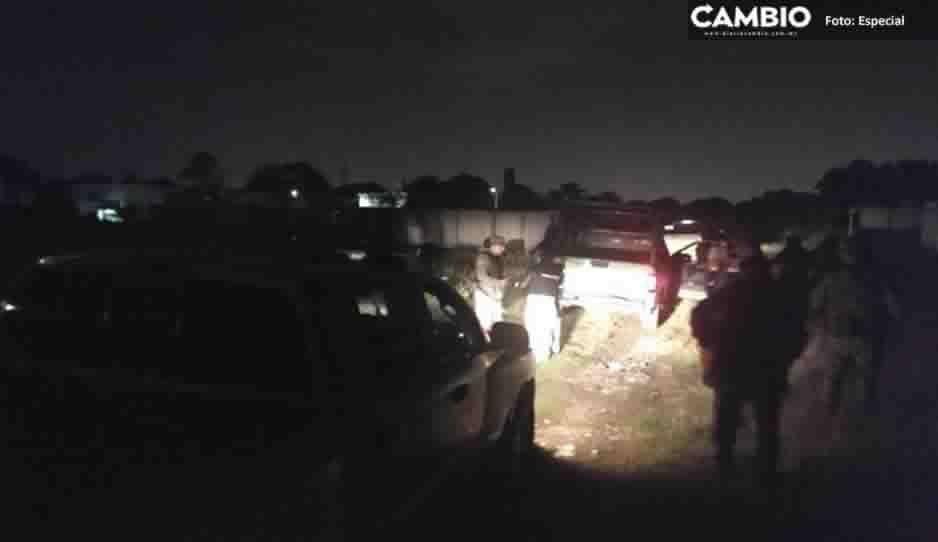 Temen explosión en Chachapa: evacuan escuelas y a más de 100 personas por toma clandestina de huachigas