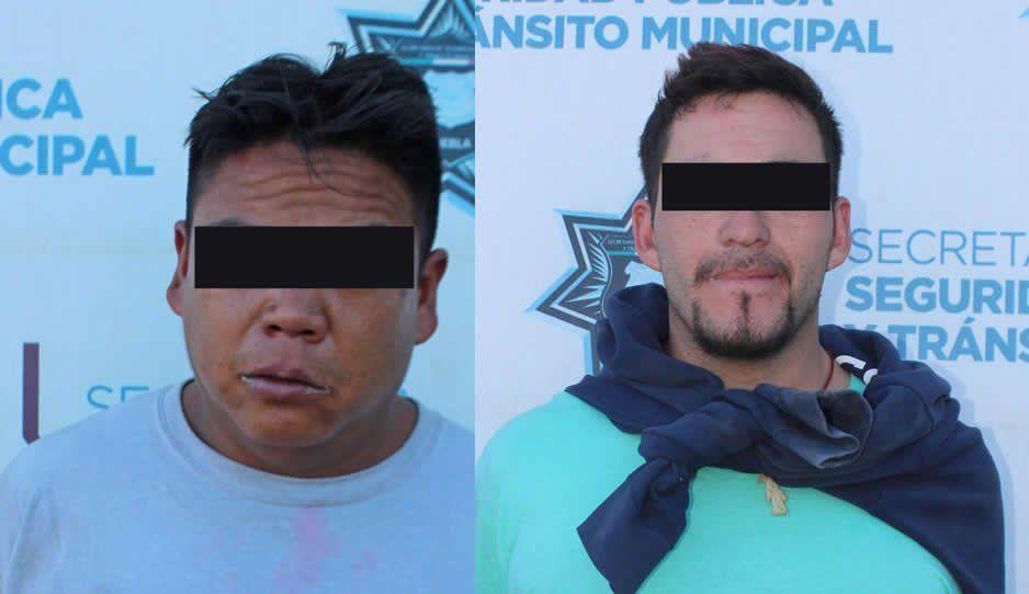 Andrés y El Chiquilín encañonan a pasajeros y atracan la 64 B; también habían asaltado la ruta Azteca