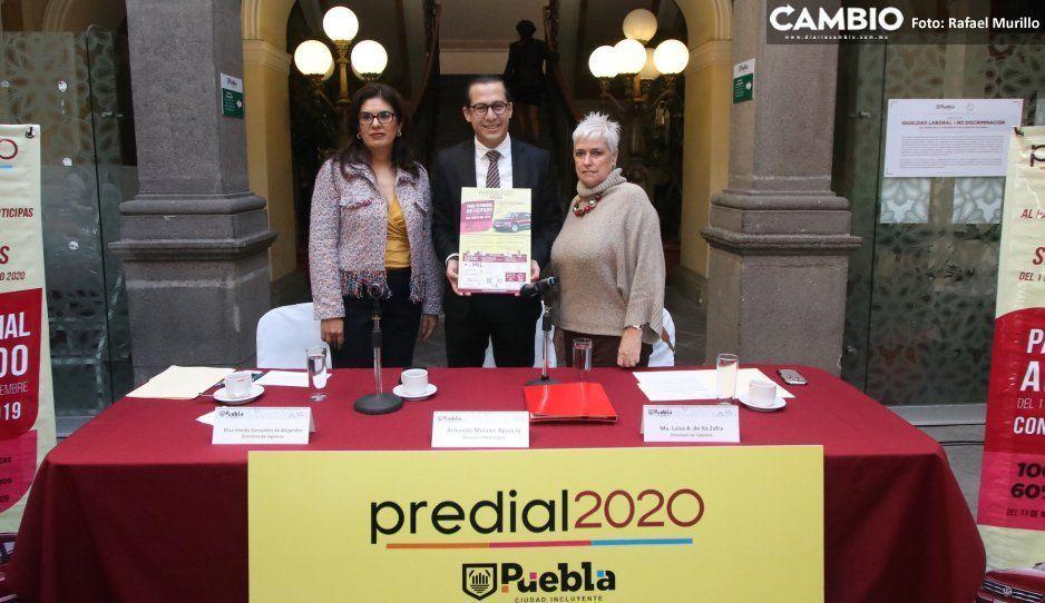 Tesorería detecta 231 mil morosos  por el predial en Puebla capital