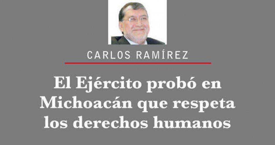 El Ejército probó en Michoacán que respeta los derechos humanos