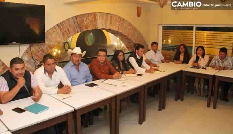 Ediles de la Mixteca forman la asociación Alcaldes Unidos por la Transformación para trabajar de la mano con Barbosa