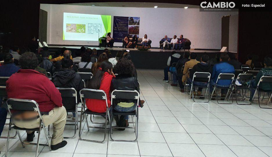 Fracasa Foro Ciudadano por el Cuidado del Zapotecas, organizado por JJ