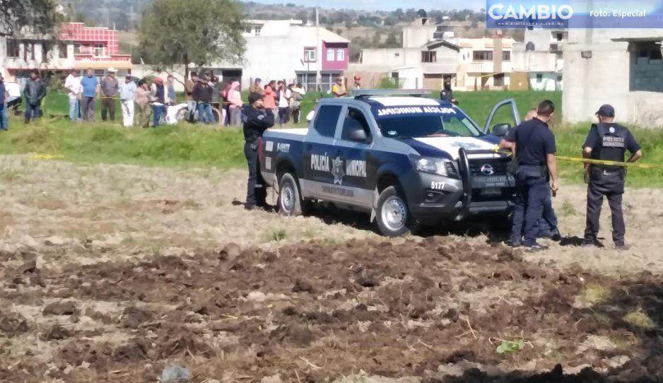 Hallan cuerpo arrastrado por el río en Texmelucan, en los límites de Puebla-Tlaxcala (VIDEO)