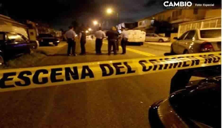 En intento de asalto matan a balazos a un joven en Atlixco