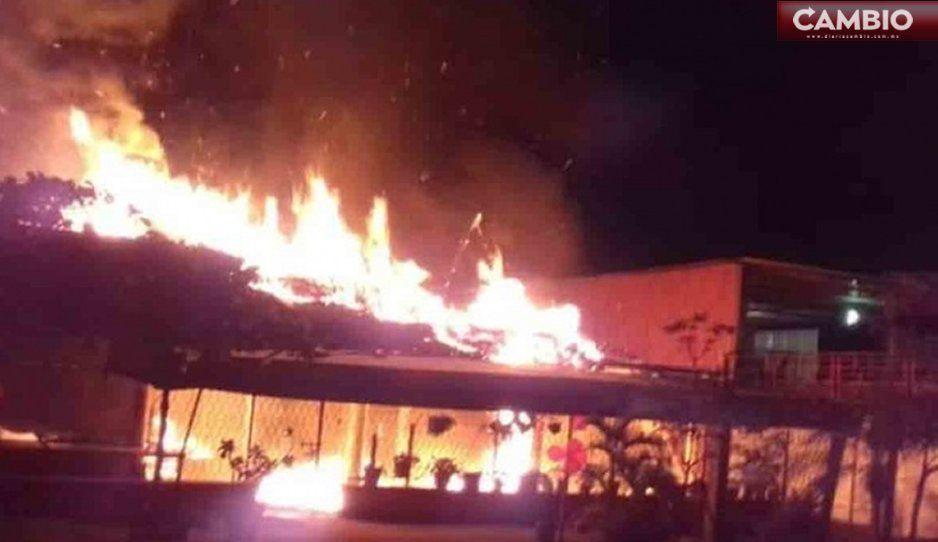 Incendian negocios y ejecutan a 4 personas en Veracruz