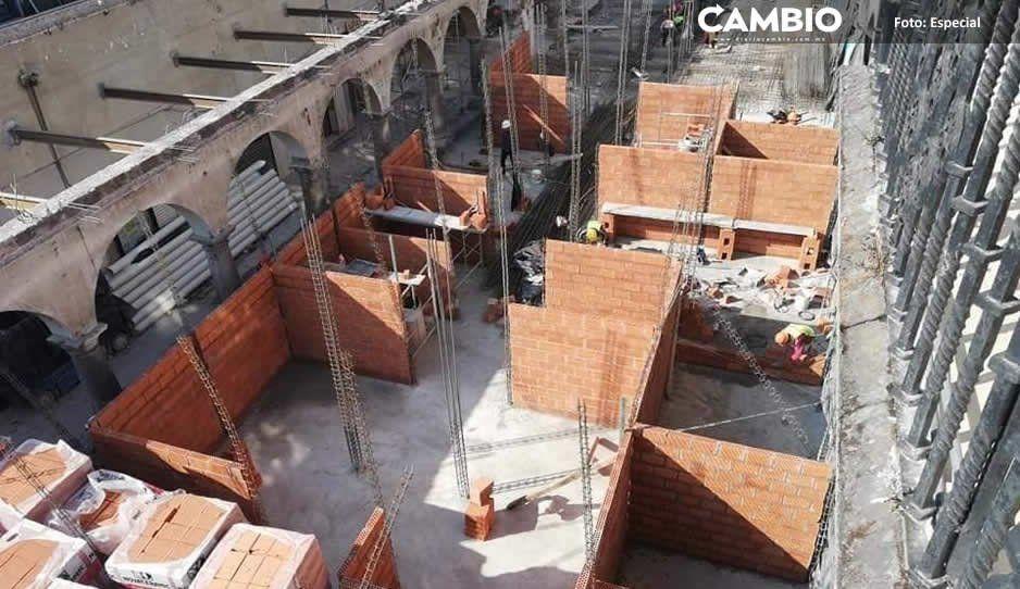 Edil de Teziutlán construye centro comercial sin permisos del INAH