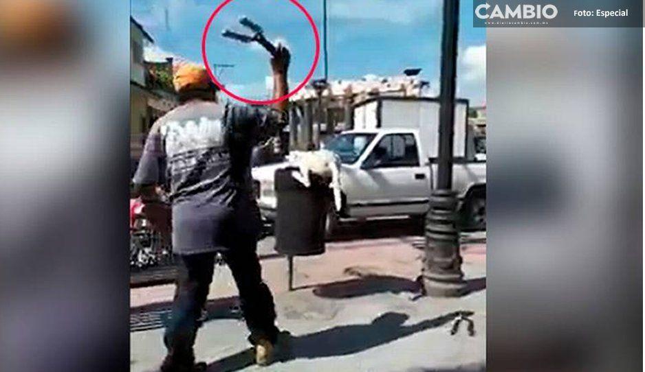 Dan de baja a trabajador por cortarle la cola a un perrito en Huehuetlán
