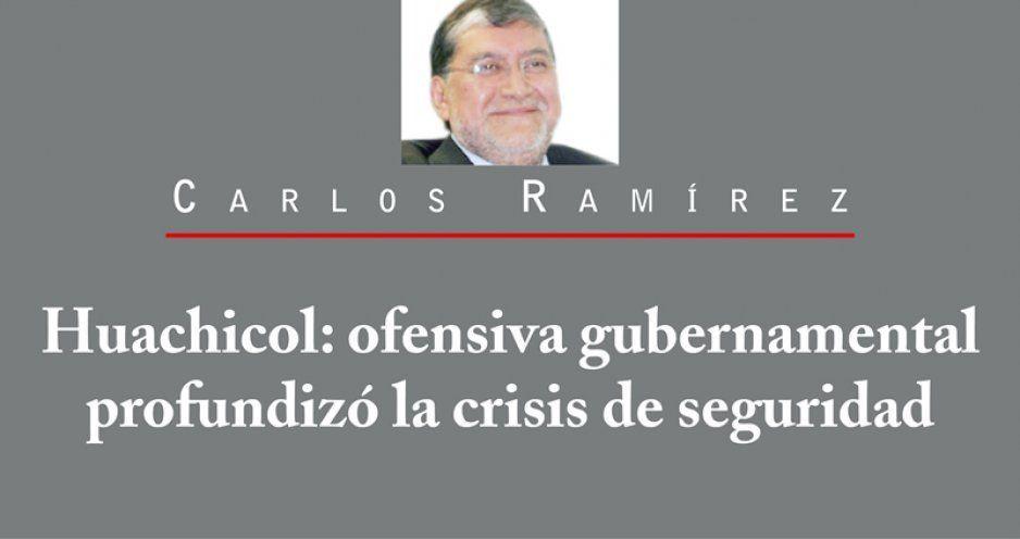 Huachicol: ofensiva gubernamental profundizó la crisis de seguridad