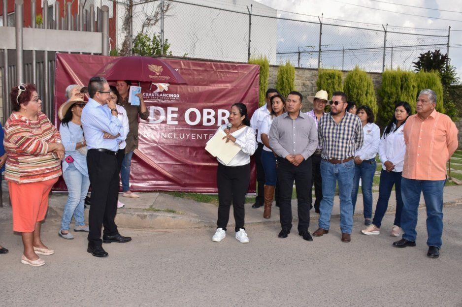 Lupita Daniel arranca obras en San Lorenzo Almecatla y Cuautlancingo