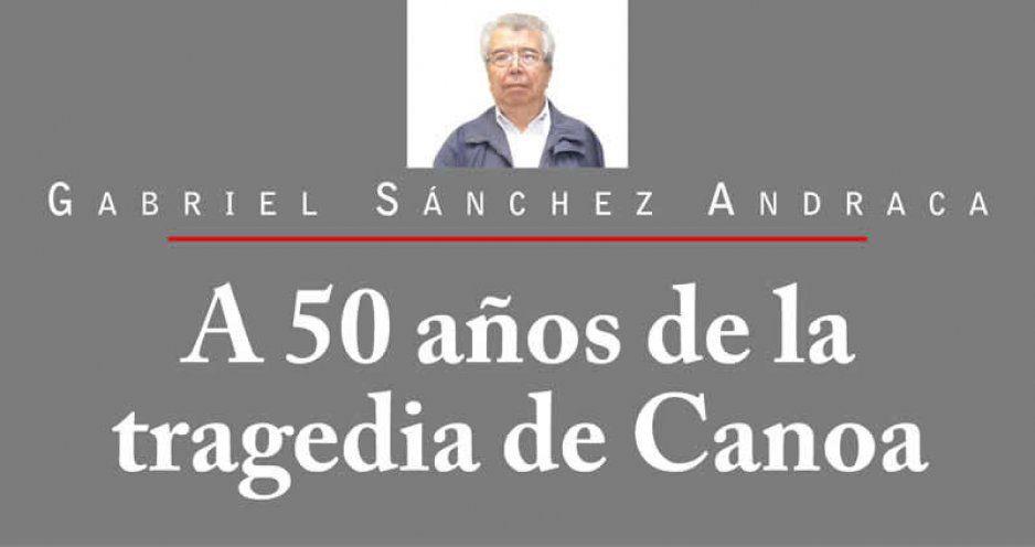 A 50 años de la tragedia de Canoa