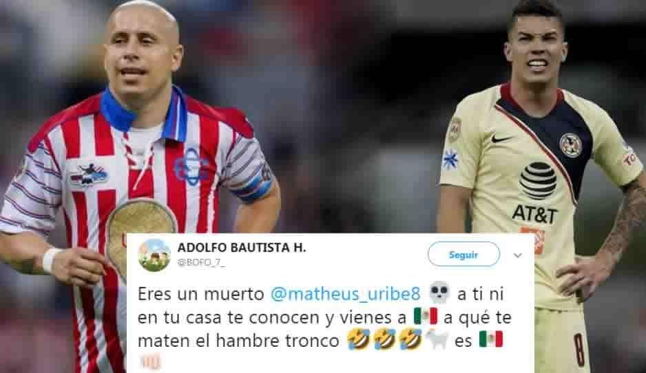 Eres un muerto: Adolfo Bautista a Mateus Uribe ¡Se calienta el clásico!