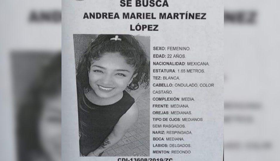 ¡Ayúdala a regresar a casa! Andrea Mariel desapareció en Agua Santa el pasado 11 de julio
