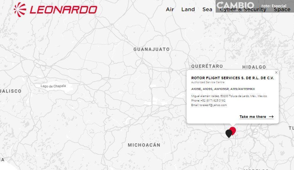 Empresa señalada por causar helicopterazo  de RMV y MEA también da servicio a Sedena