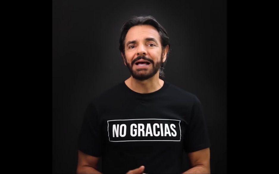 Eugenio Derbez tiene miedo de visitar México ante la ola de violencia extrema (VIDEO)