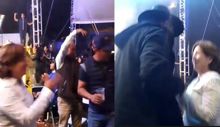 Mientras la violencia asola a Tecamachalco, su alcaldesa se divierte a lo grande (VIDEO)