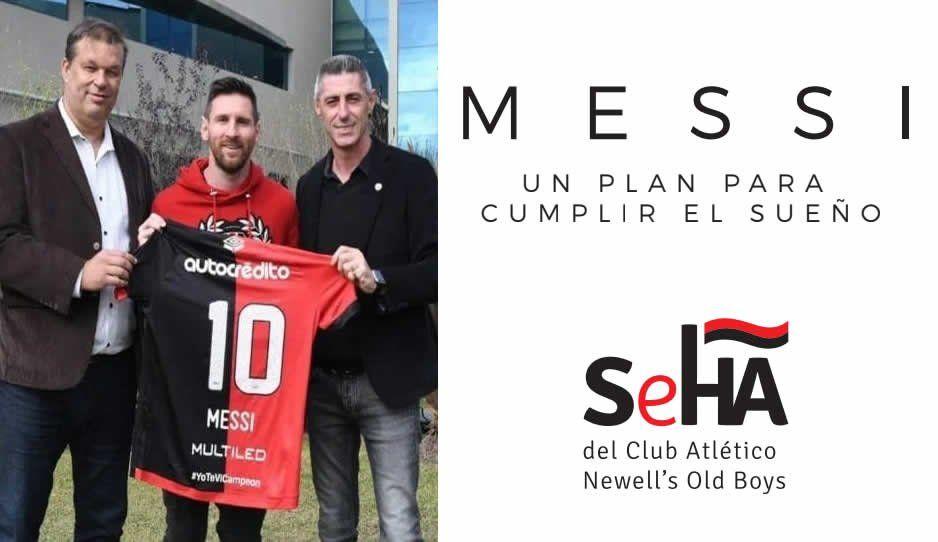 Soñar no cuesta nada Newell's: este es el ambicioso proyecto para que Messi juegue en la Súper Liga Argentina