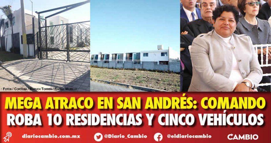 Mega atraco en San Andrés: comando roba 10 residencias y cinco vehículos