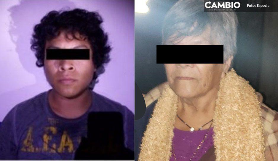 Aseguran a abuela narcomenudista en Xicotepec