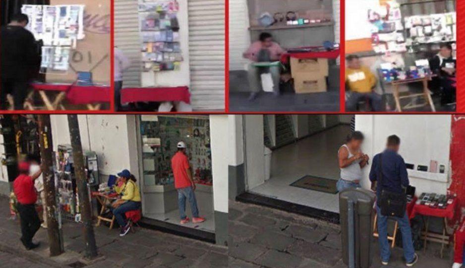 Prisión o multa de hasta 8 mil para ambulantes que vendan celulares robados en el Centro Histórico