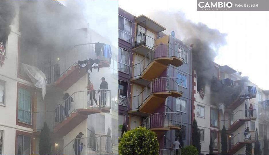 Vecinos rescatan a una mujer cuando su departamento en Misiones de San Francisco