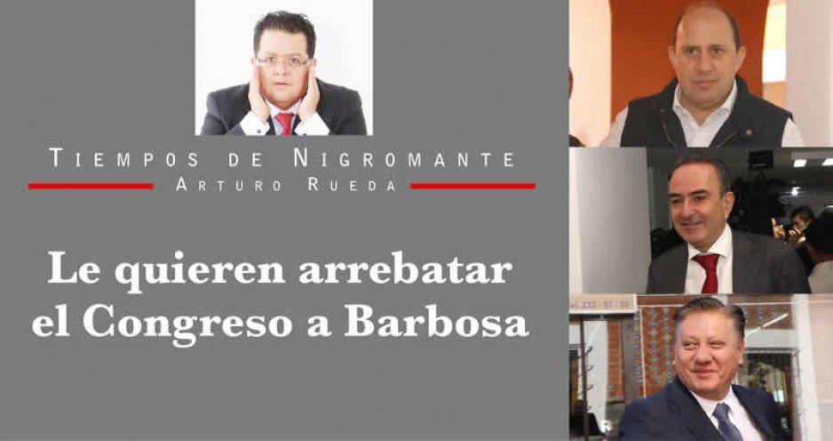Le quieren arrebatar el Congreso a Barbosa