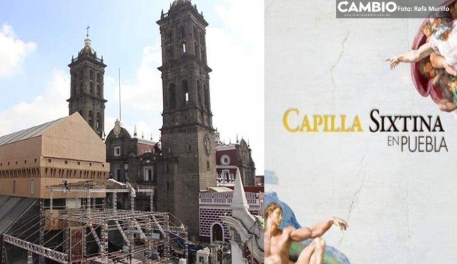 Arzobispo de Puebla bautizaráa 32 niños el 12 de enero en la réplica de la Capilla Sixtina
