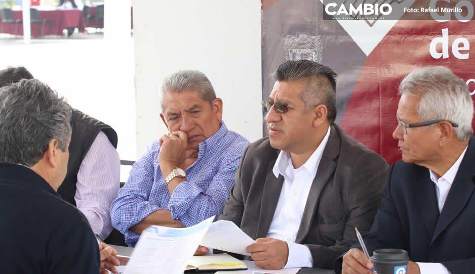 Infraestructura recibe peticiones de alcaldes  de Chinantla y Coatzingo