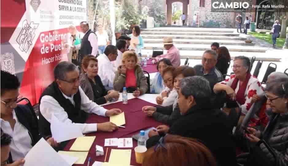 Secretaria del Trabajo atiende a ex trabajadores de gobiernos morenovallistas en la jornada de atención ciudadana