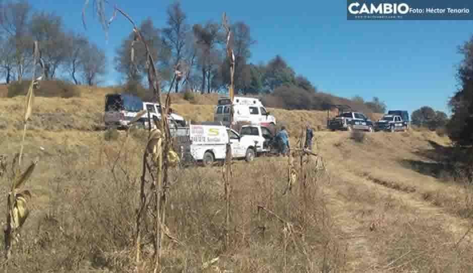 Policía Municipal recupera camioneta gasera robada por sujetos armados en Chiautzingo